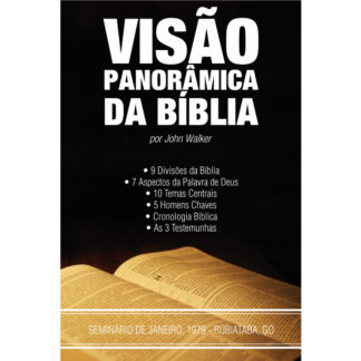 Visão Panorâmica da Bíblia